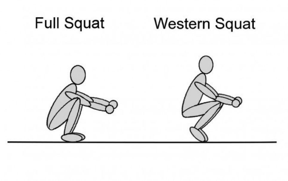 Asian Squat Vs Western Squat